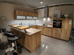 Küche Holz optik
